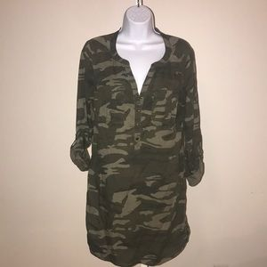 Express Dresses - Camo Express Dress size medium